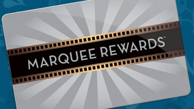 Marquee Rewards card being inserted into a slot machine